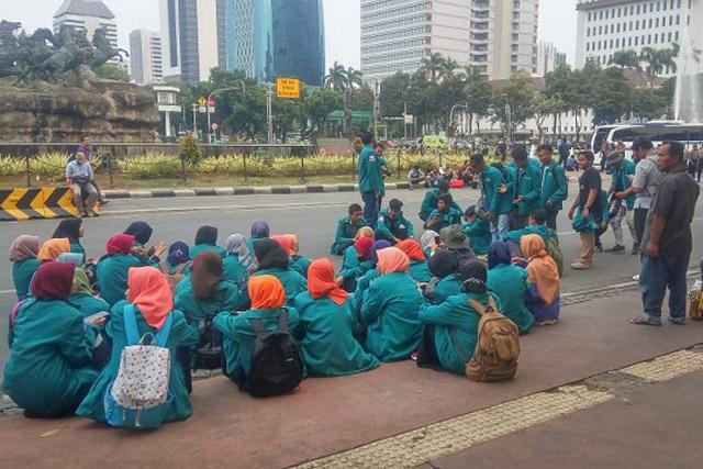 Aksi Unjuk Rasa BEM SI Jabotabek Banten Dikritisi Ketua BEM