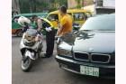 Polisi Bandung Tilang Kendaraan Berplat Tulisan Mirip Huruf Mandarin