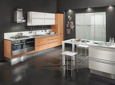 Ruang Dapur Minimalis Modern Yang Anggun Dan Fungsional