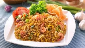 Resep Nasi Goreng Seafood Spesial