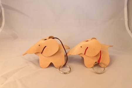 To små elefanter fra Det Lille Læderi