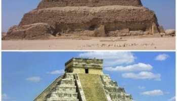 Mayașii și Egiptenii - legende si informatii