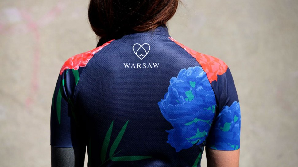 Warsaw-back-womens-cycling-top-view