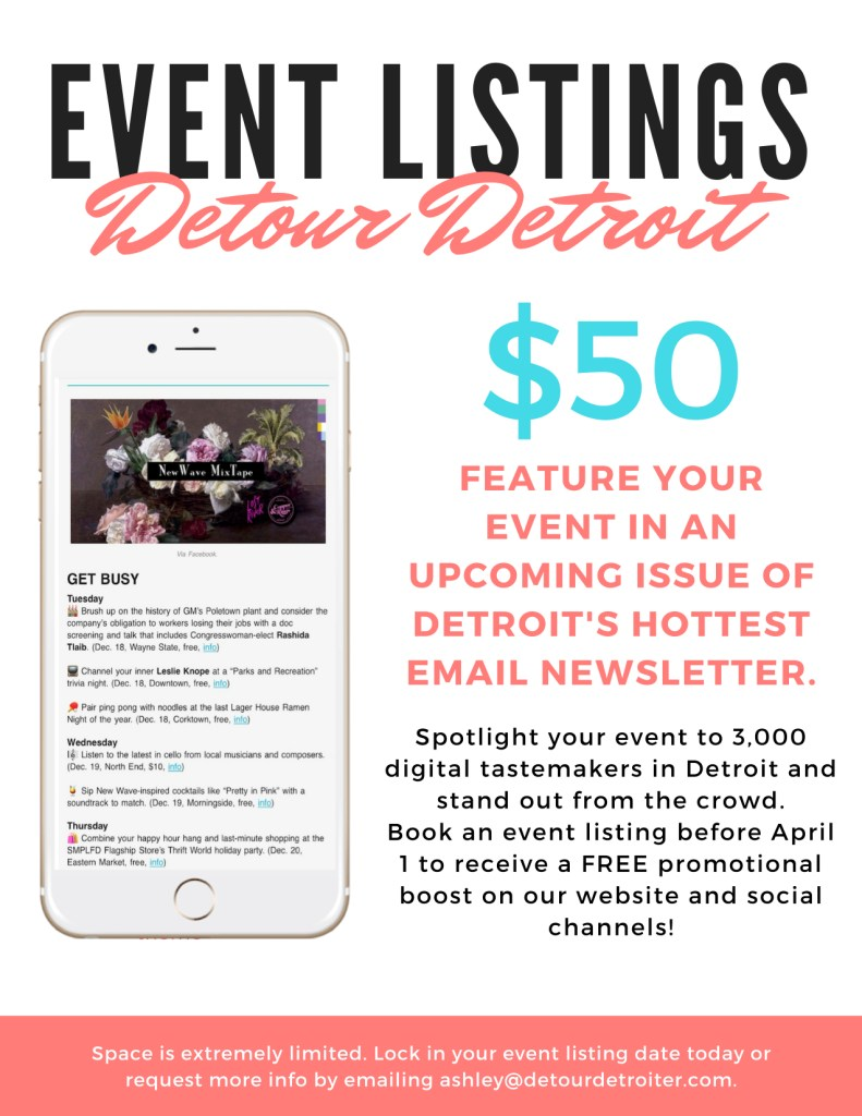 Events at Detour Detroit