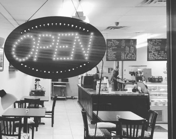 Dexter Grinds coffee shop interior