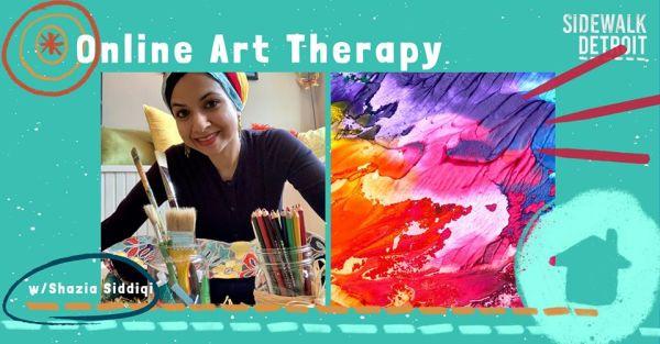 Sidewalk Detroit art therapy