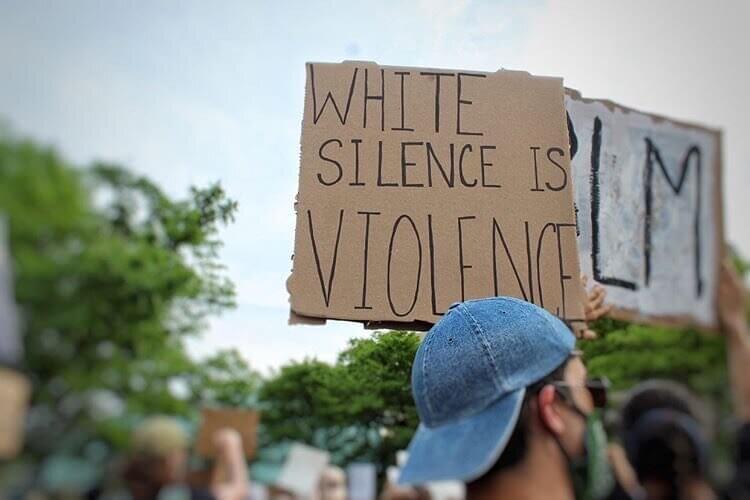 Detroit Black Lives Matter protest photo by Caia Taylor