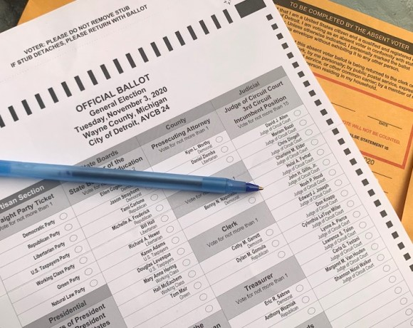 track your absentee ballot michigan