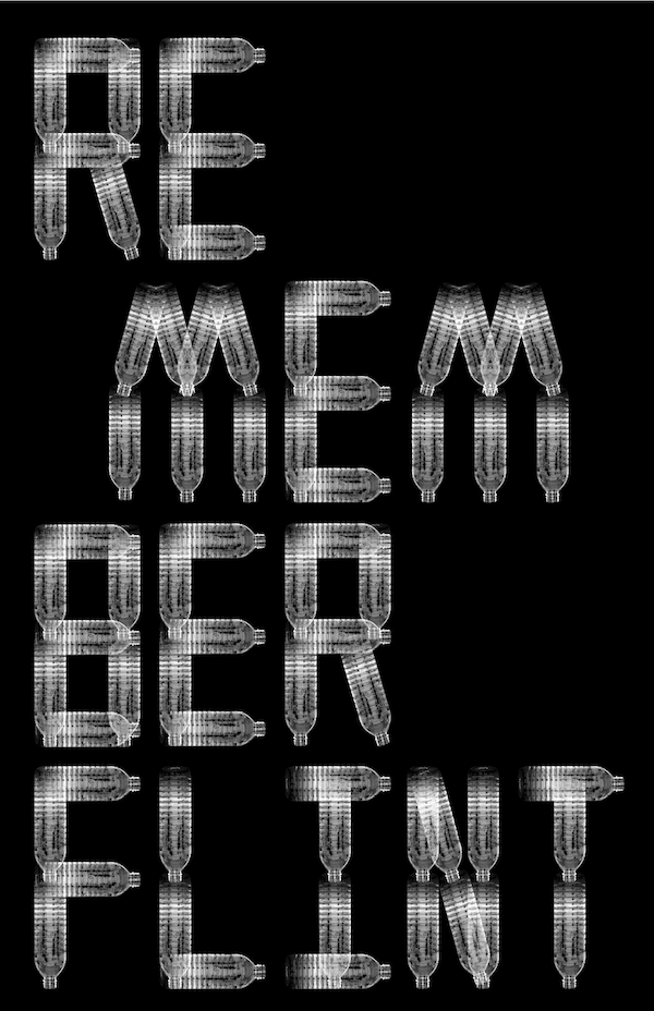 "Posters on Politics poster ""Remember Flint,"" by Keith Kitz of the U.S."