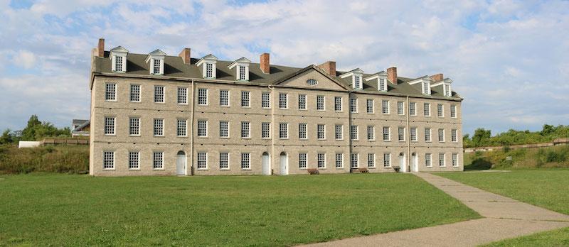 Historic Fort Wayne barracks via the City of Detroit