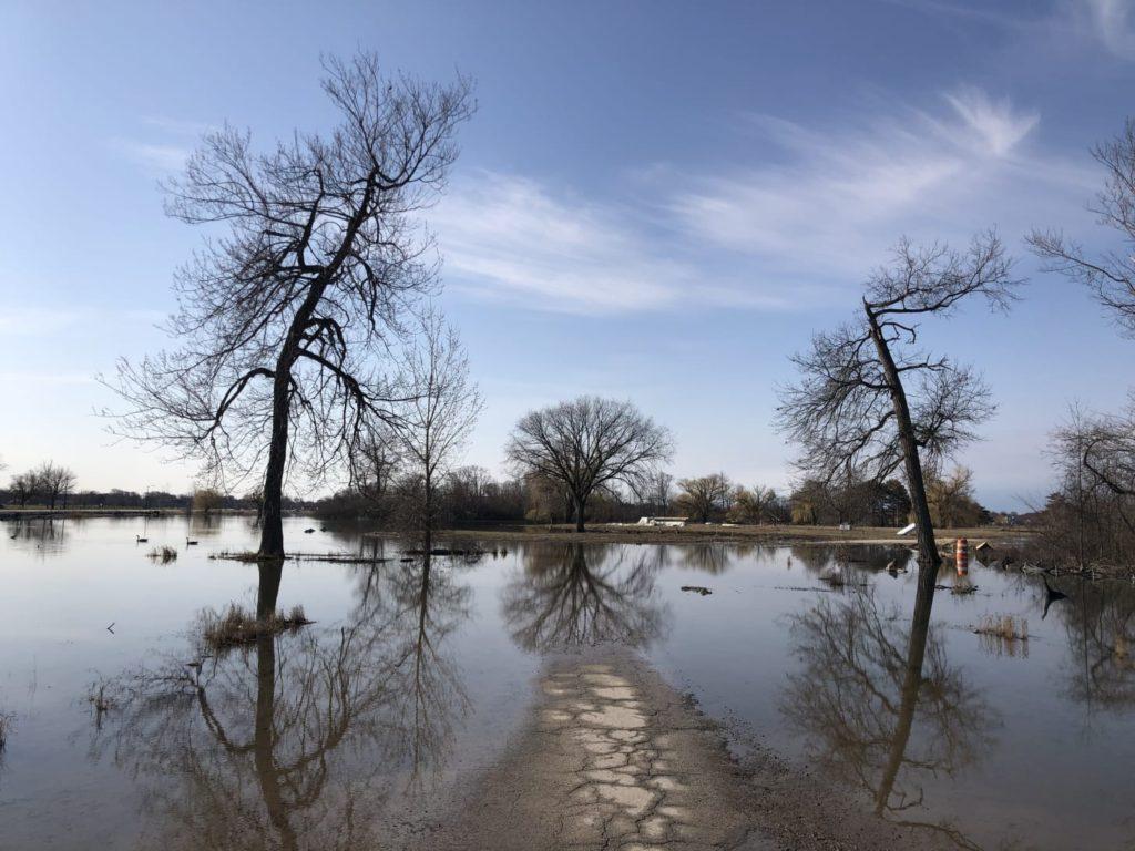 belle isle flooding