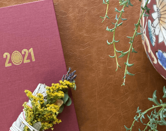 Set your 2021 goals with the Naturally Empowered Planner