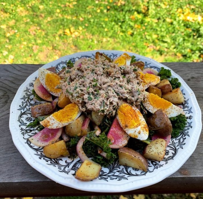 Recipes from Detroit chefs/tuna nicoise Maryam Khan