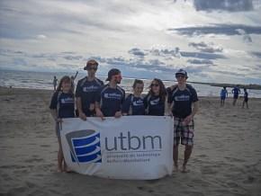 La team UTBM Compétition du BDS au Polytech'Volley à Montpellier en mai 2014