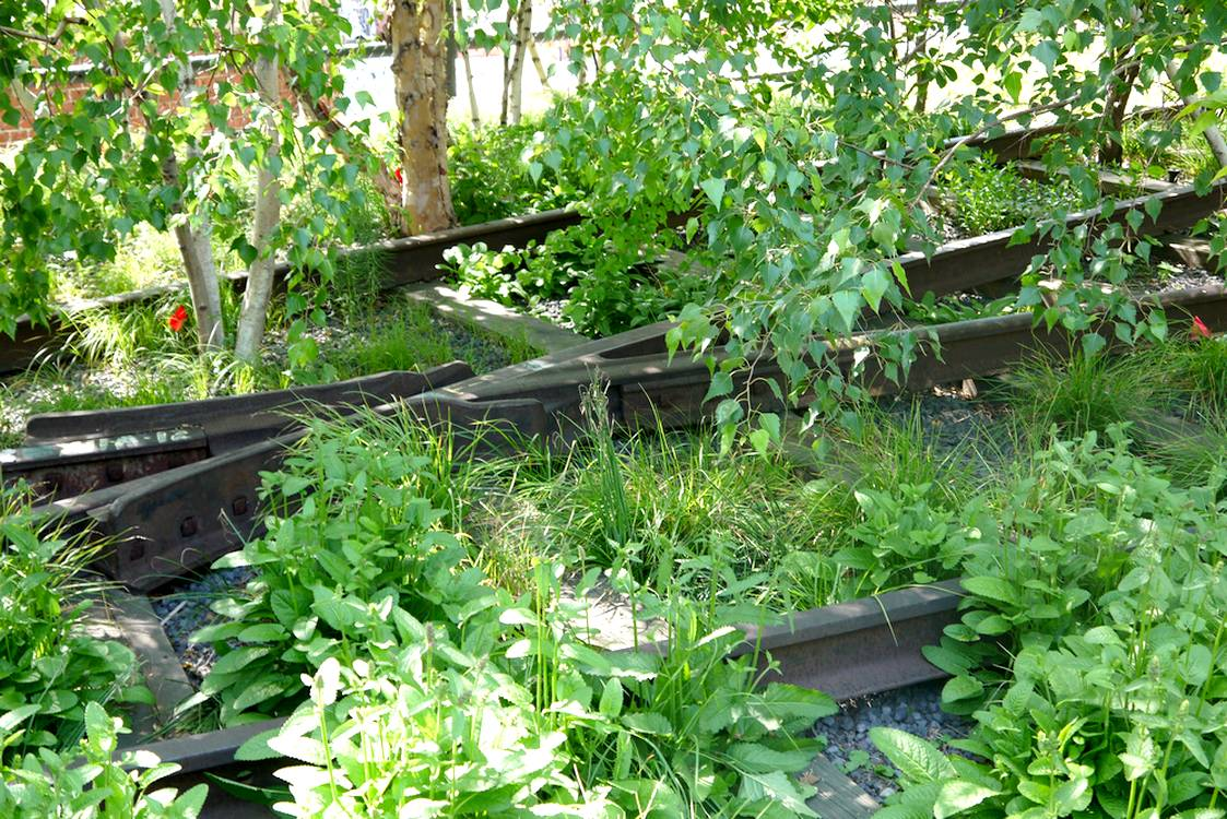 high line new york railway