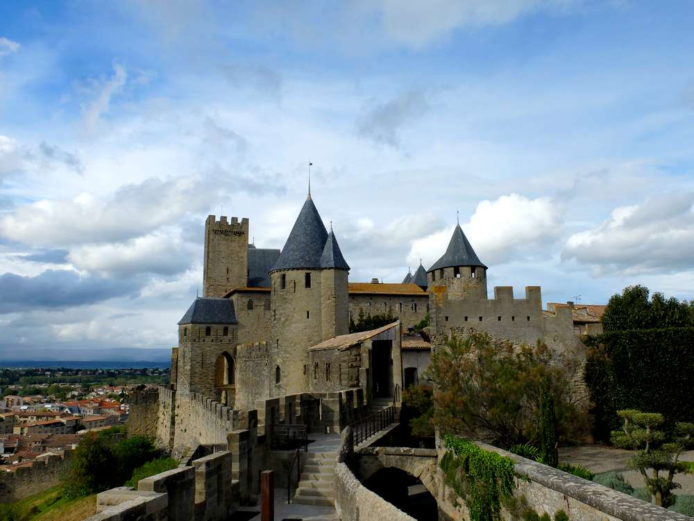 cite carcassonne panorama