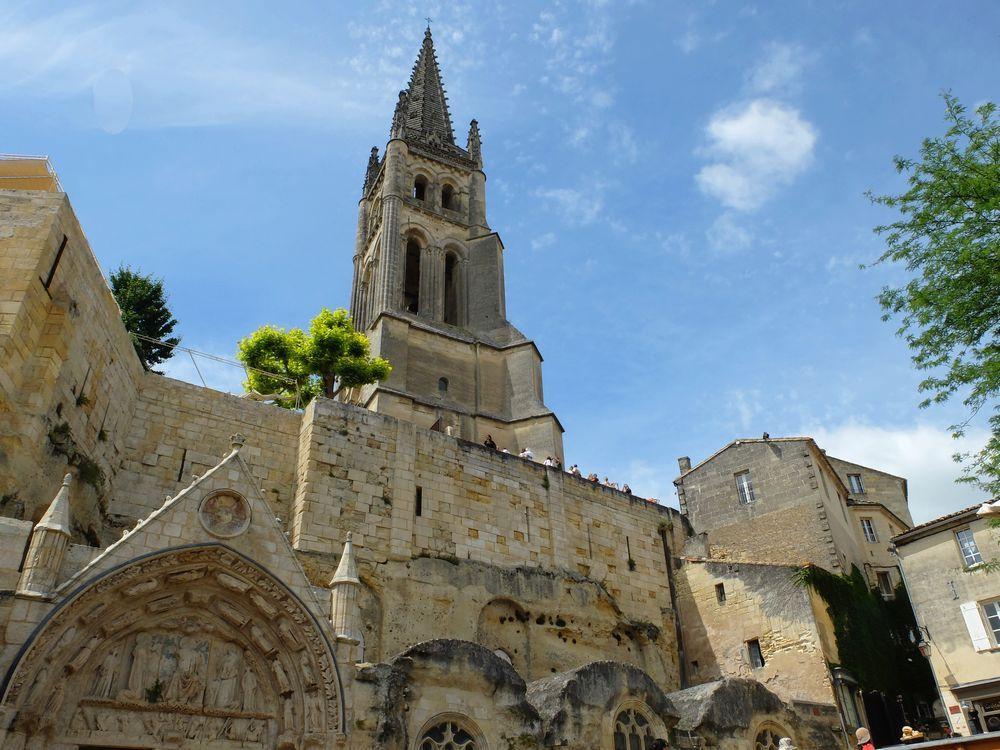 eglise monolithe saint emilion