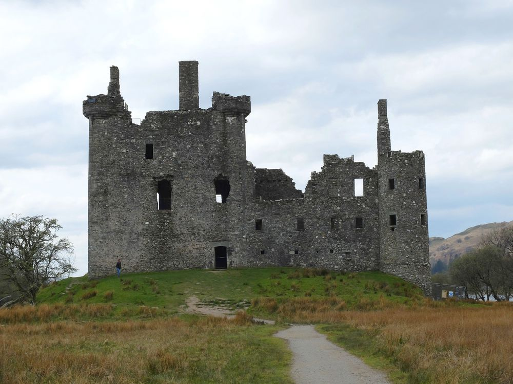 kilchurn castle écosse