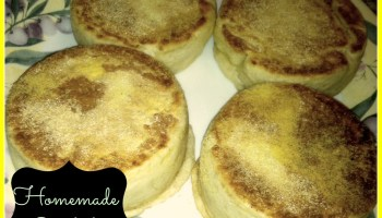 Easy pizza dough english muffins forumfinder Choice Image
