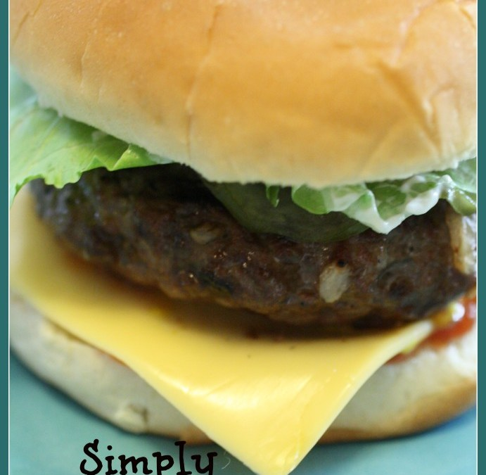 Simply Amazing Hamburgers