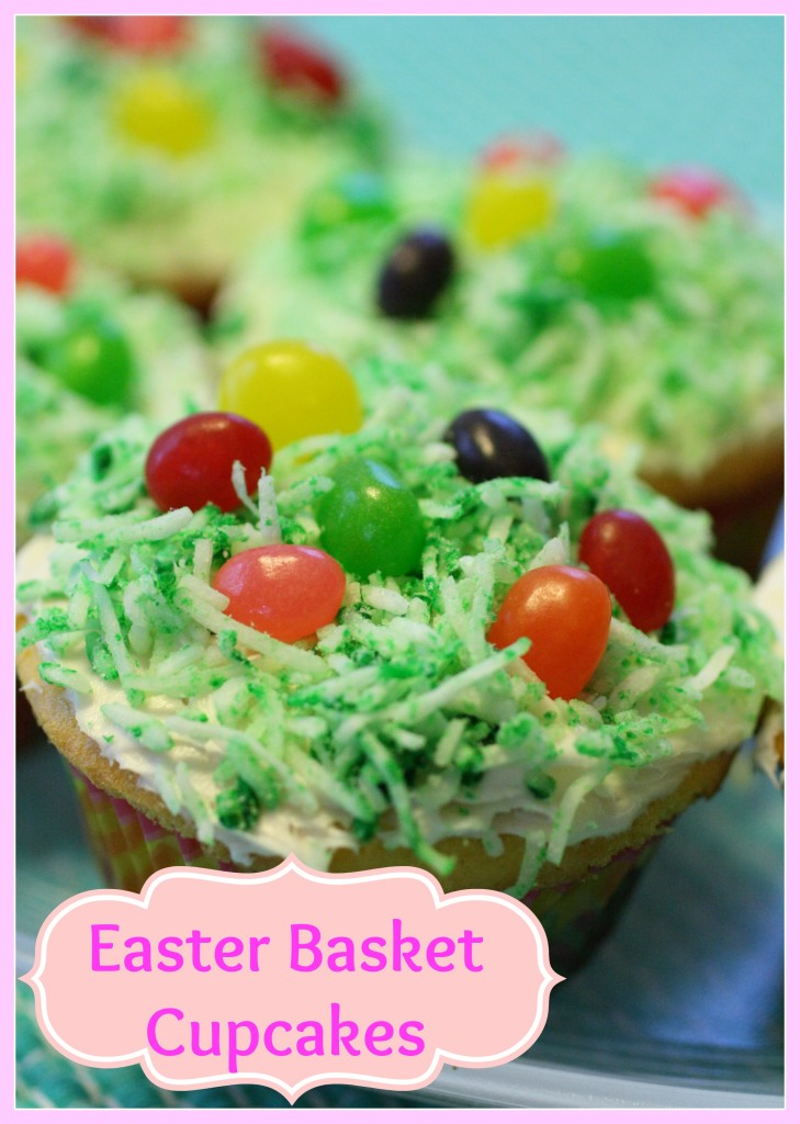 Simple Easter Cupcakes - Detours in Life