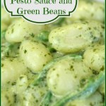 Gnocchi with Pesto Sauce and Green Beans