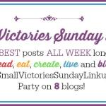 Small Victories Sunday Linkup {7}