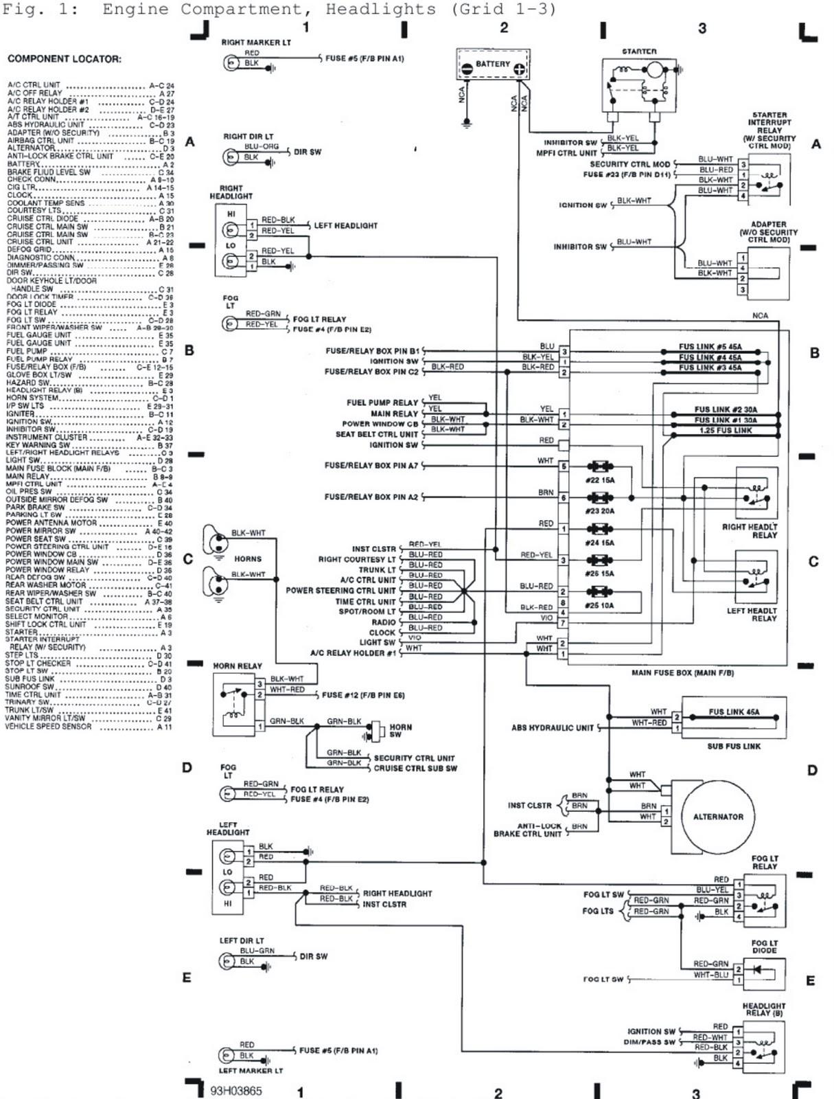 Mower Engine Diagram