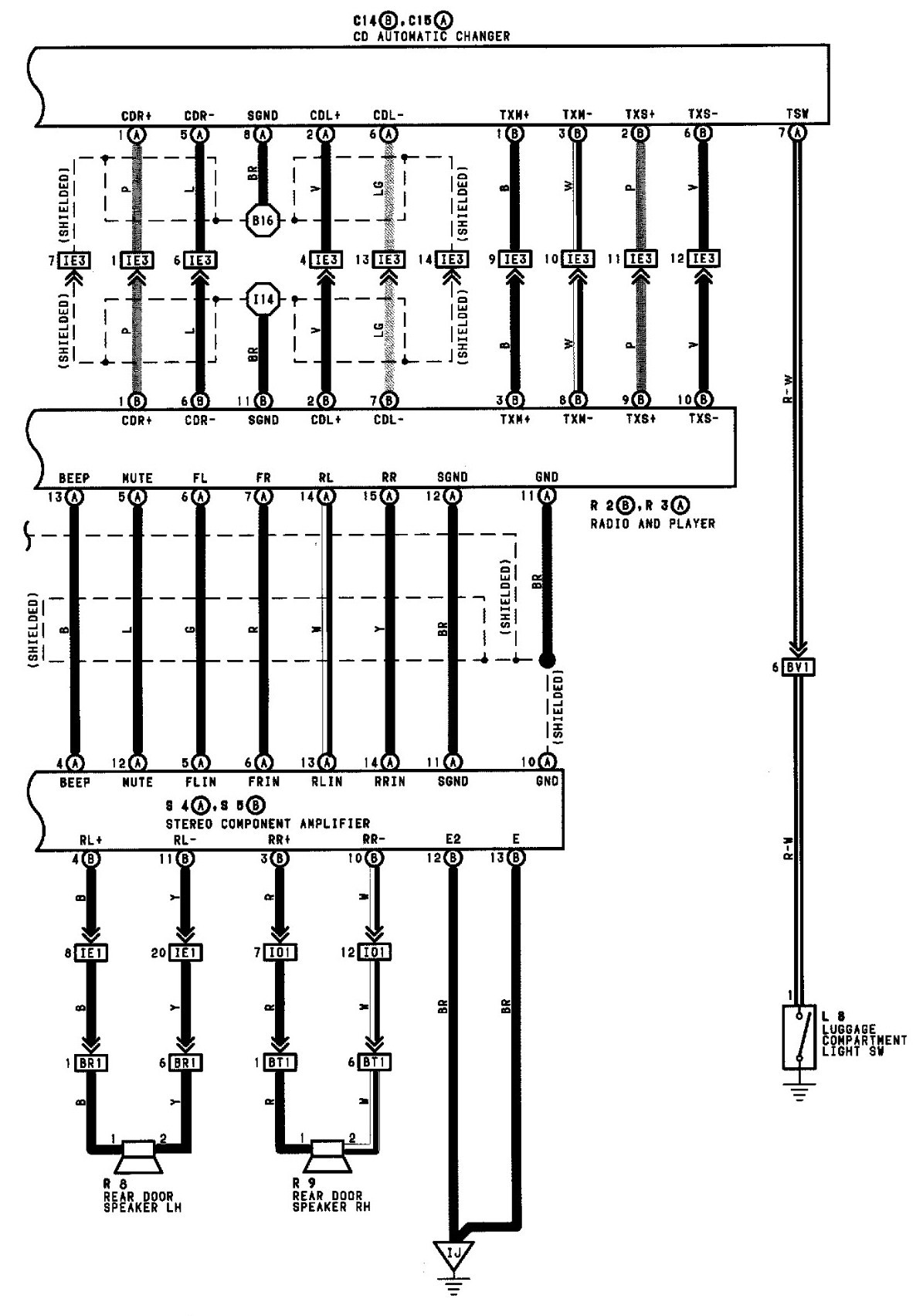 2003 Toyota Camry Wiring Diagram
