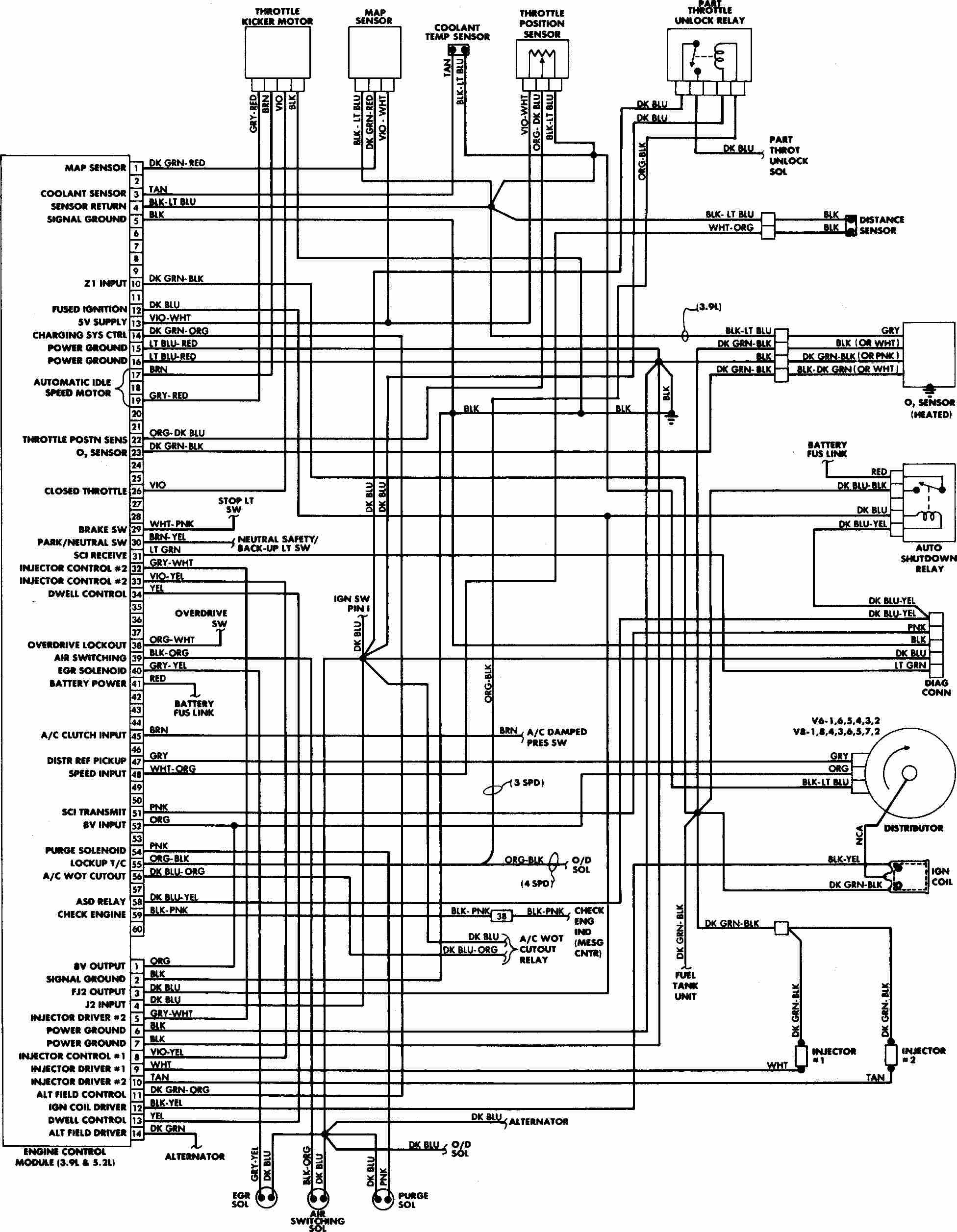 Fuse Box Diagram Dodge Caravan
