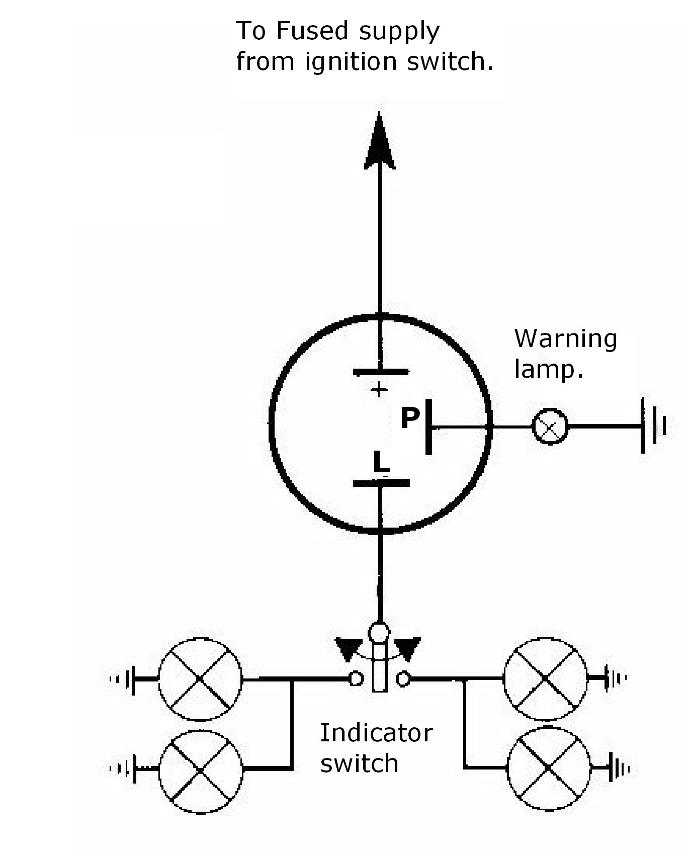 2 Pin Flasher Relay Wiring Diagram