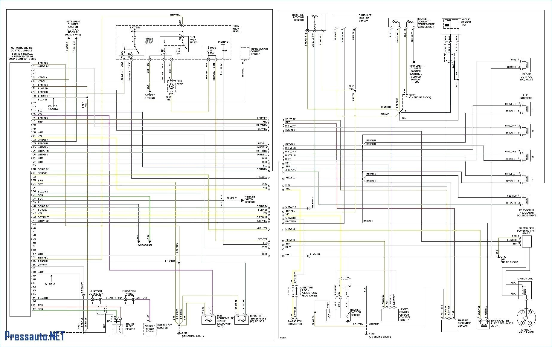 Volkswagen Light Wiring Diagram