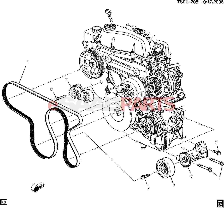 Toyota Corolla Engine Diagram