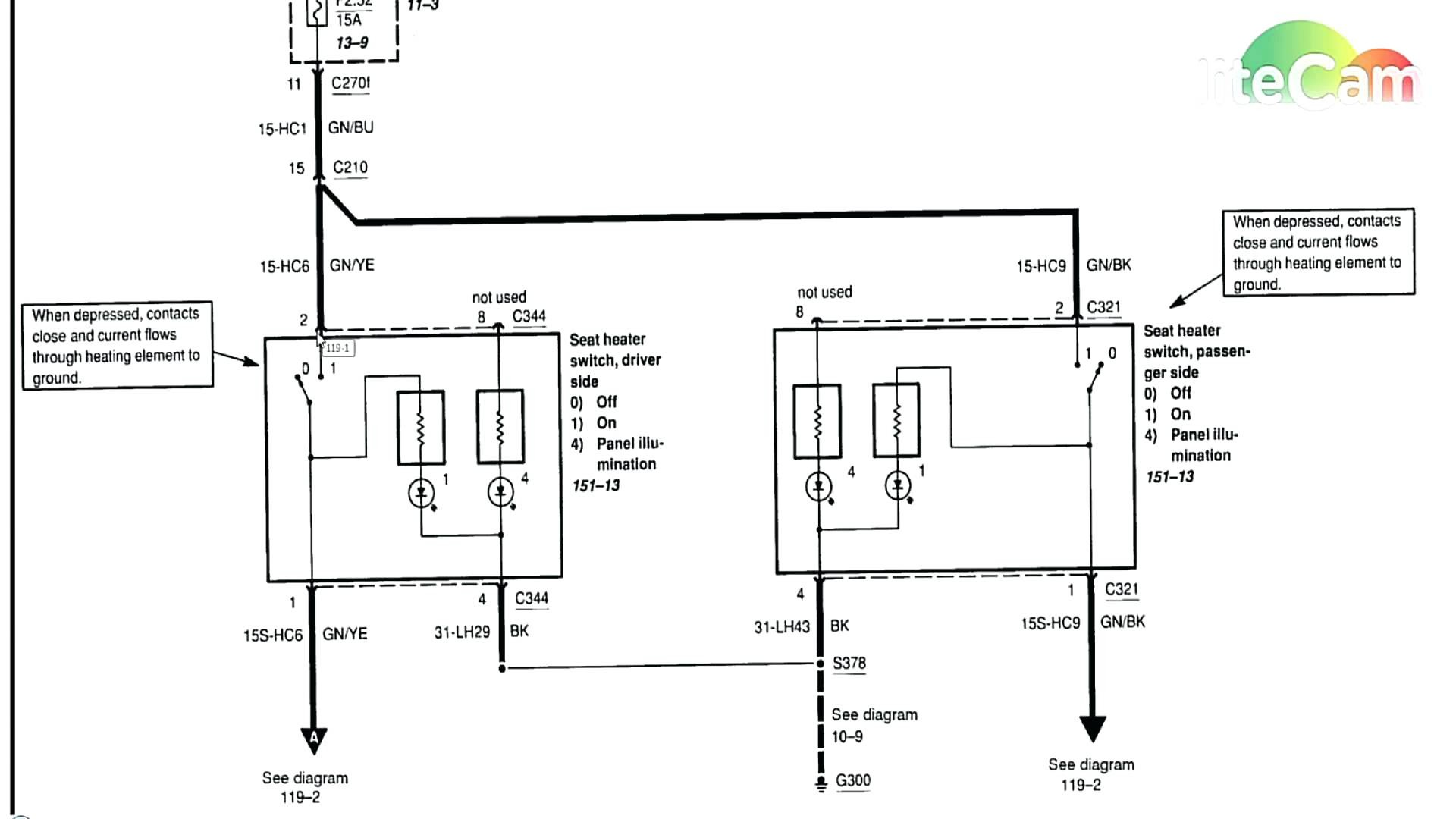 Ford Mustang Co Fuse Box Diagram
