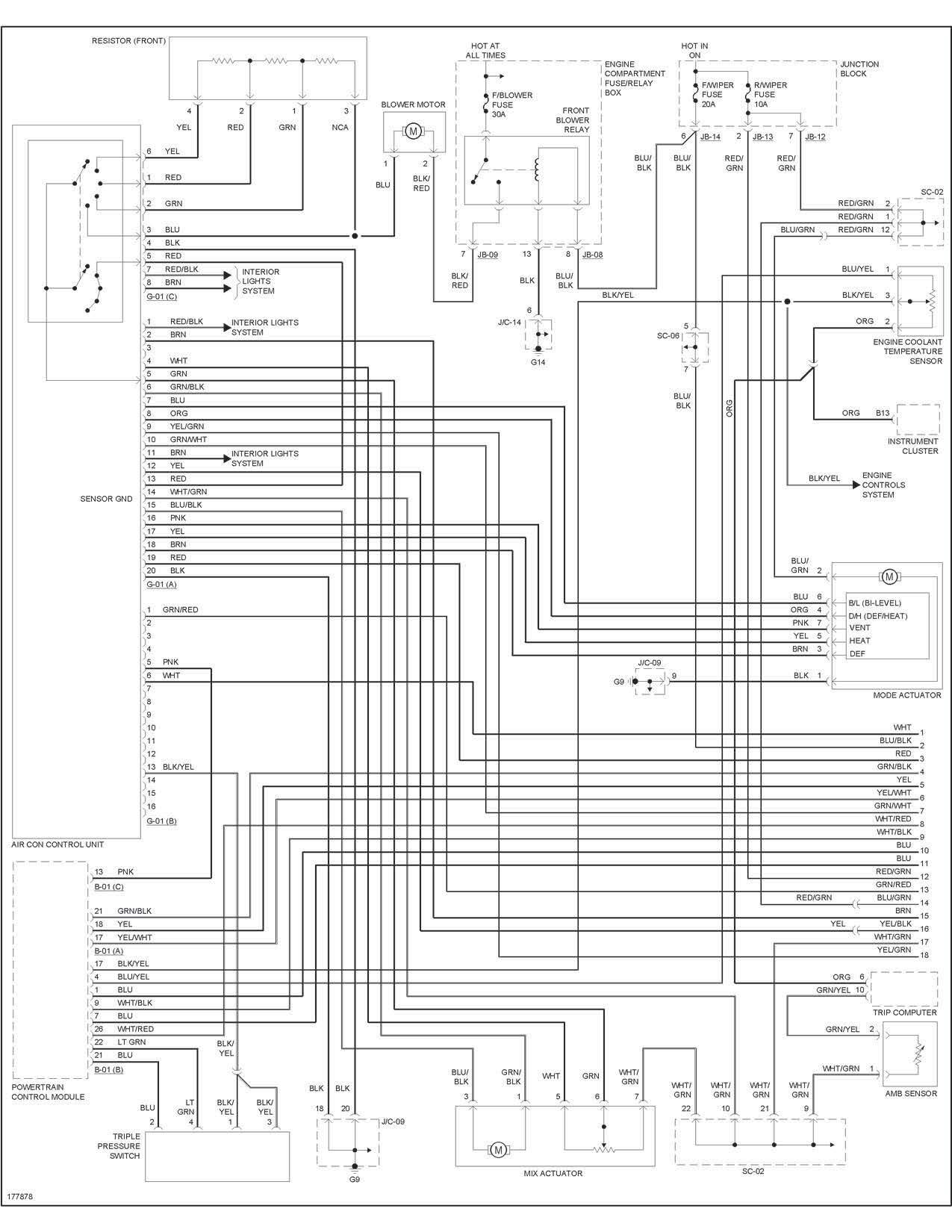 Kia Sportage Fuse Diagram Wiring Schematic