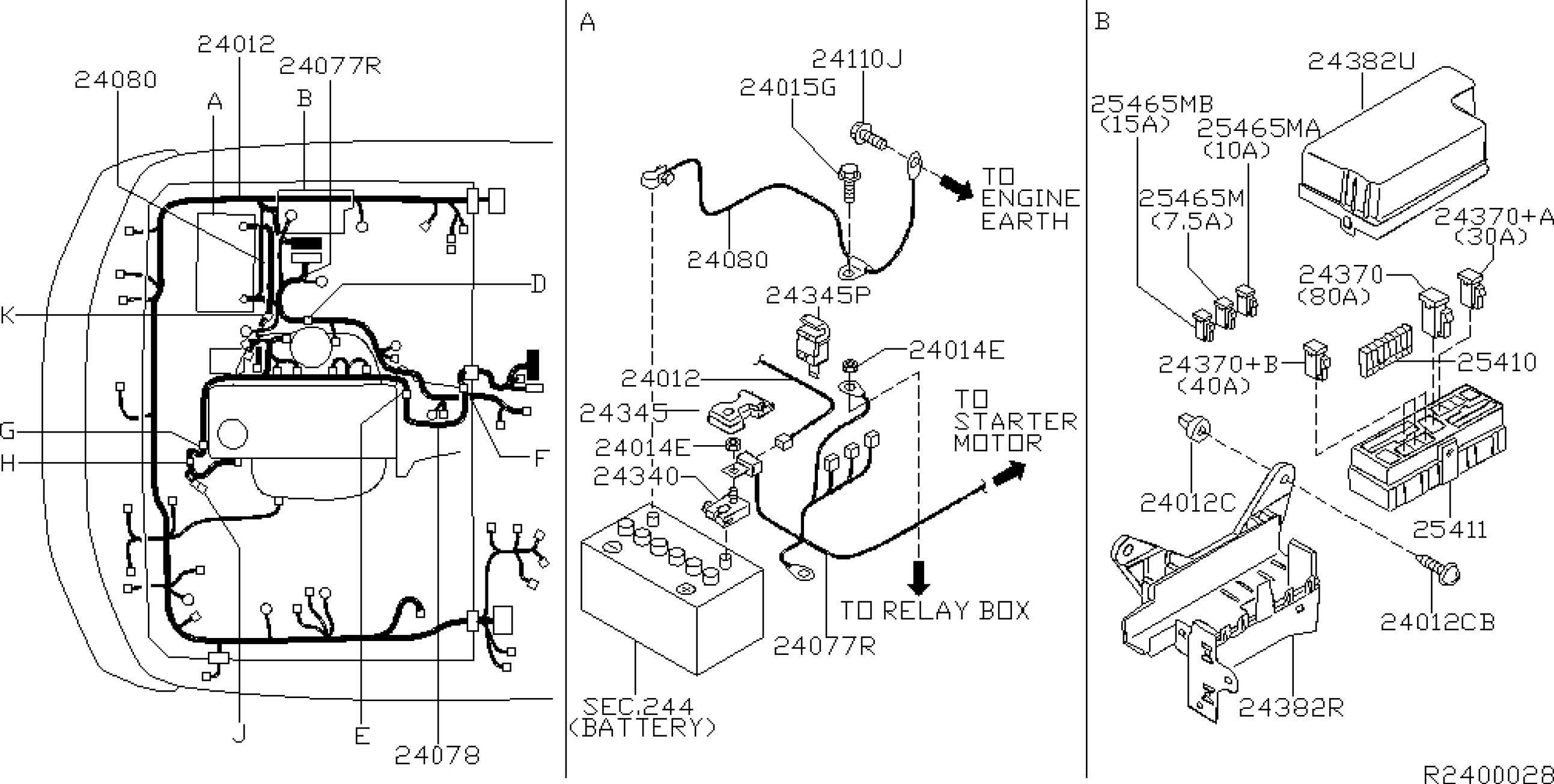 2004 Suzuki Forenza Belt Routing Engine Diagram
