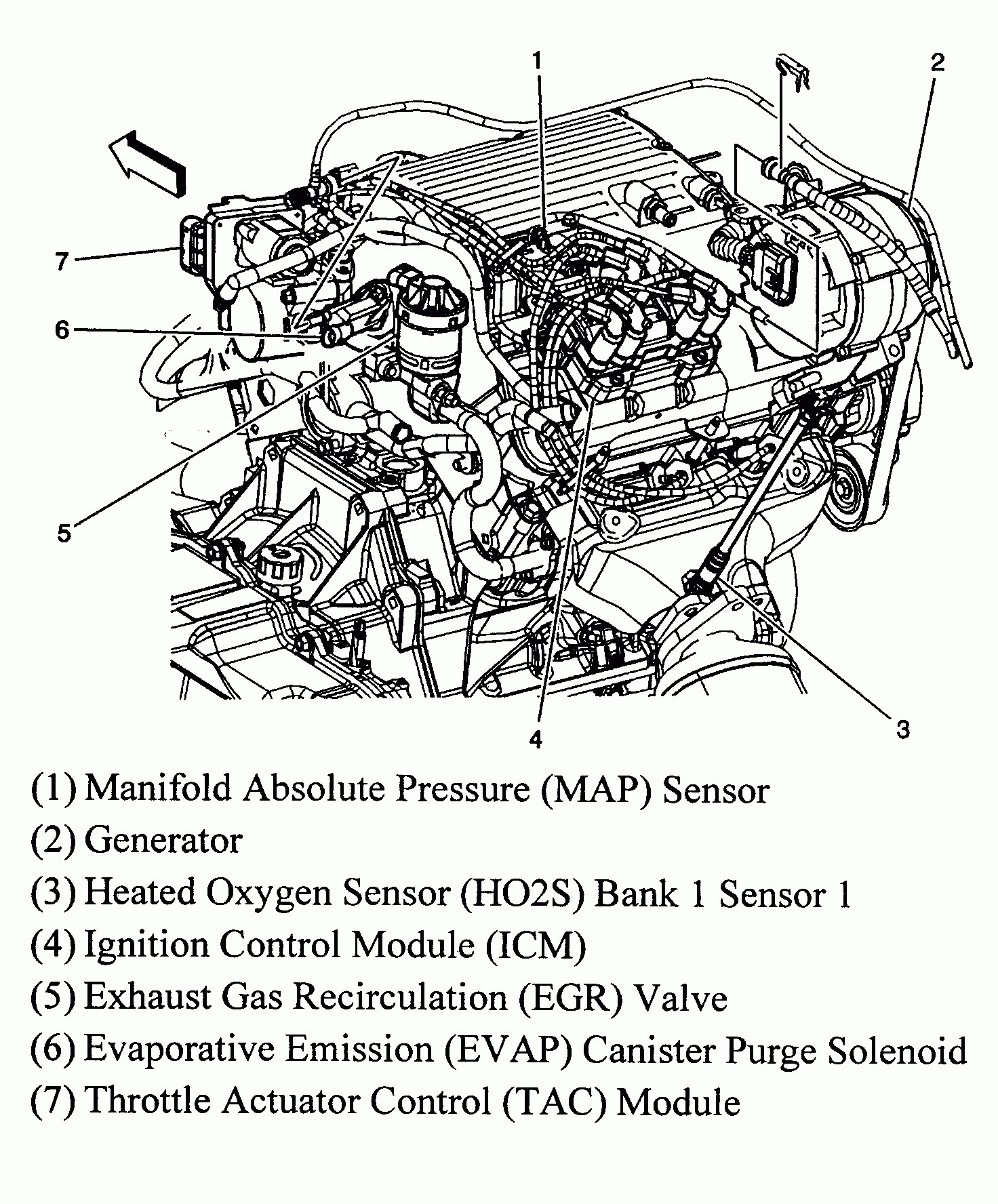 2006 Pontiac Grand Prix Belt Diagram | Wiring Diagram Database