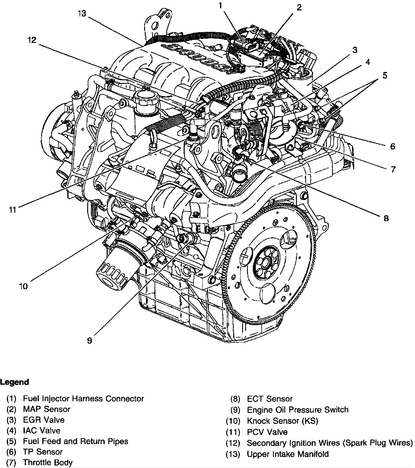V 6 Engine Diagram