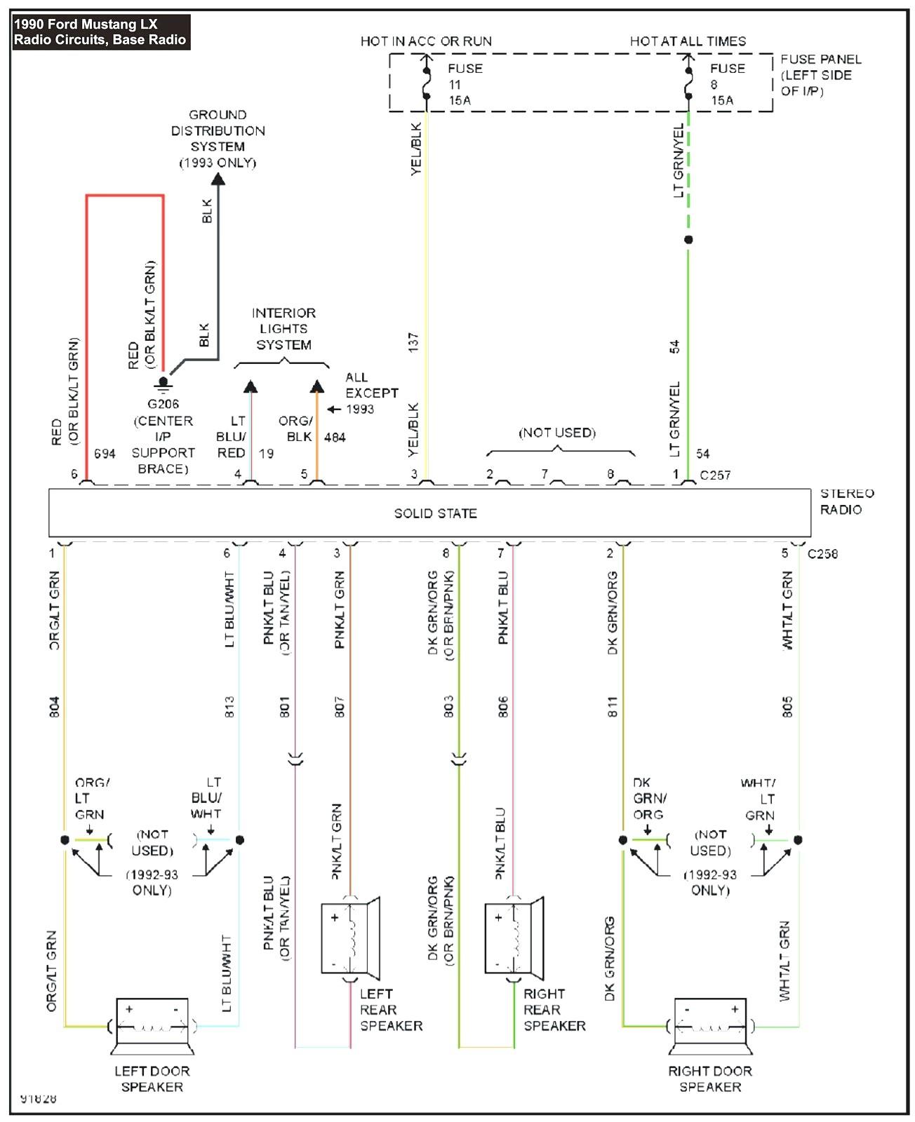 30 Mustang Mach 460 Wiring Diagram
