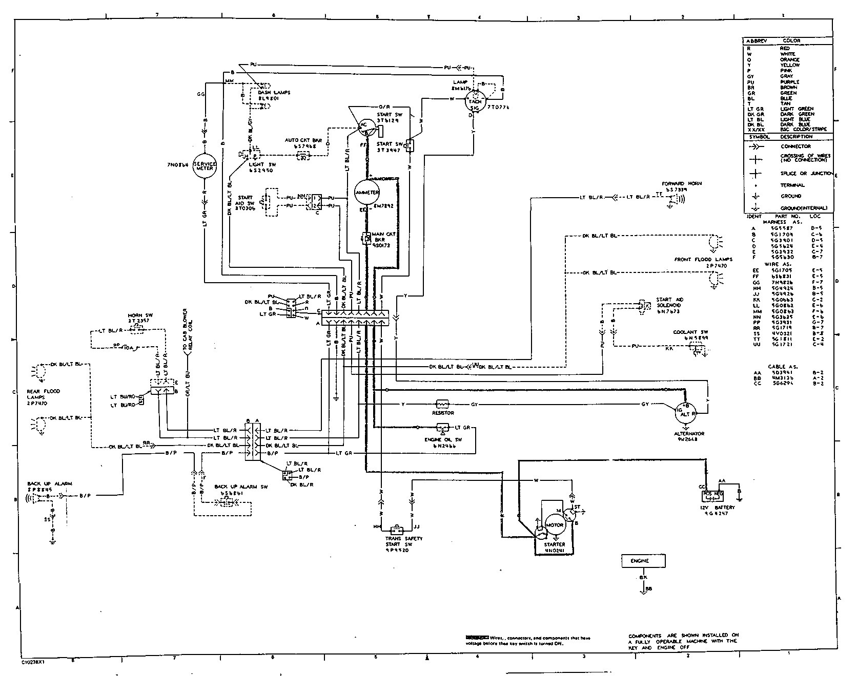 Caterpillar T50d Forklift Wiring Diagram