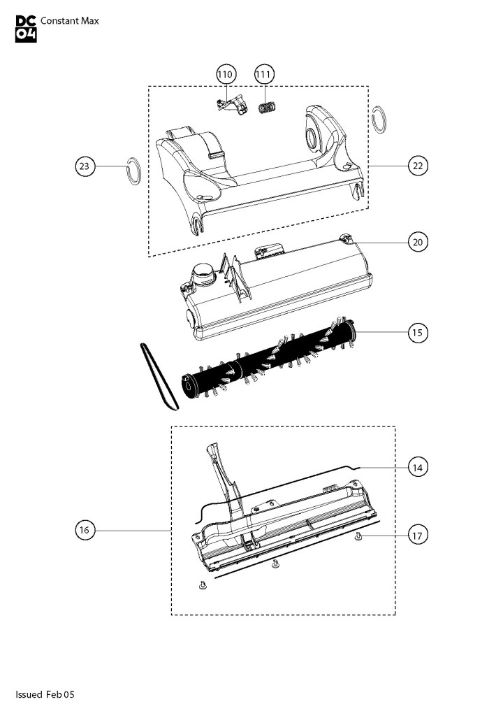 Stupendous Dyson Dc07 Vacuum Parts Diagram Newmotorjdi Co Wiring Cloud Venetbieswglorg