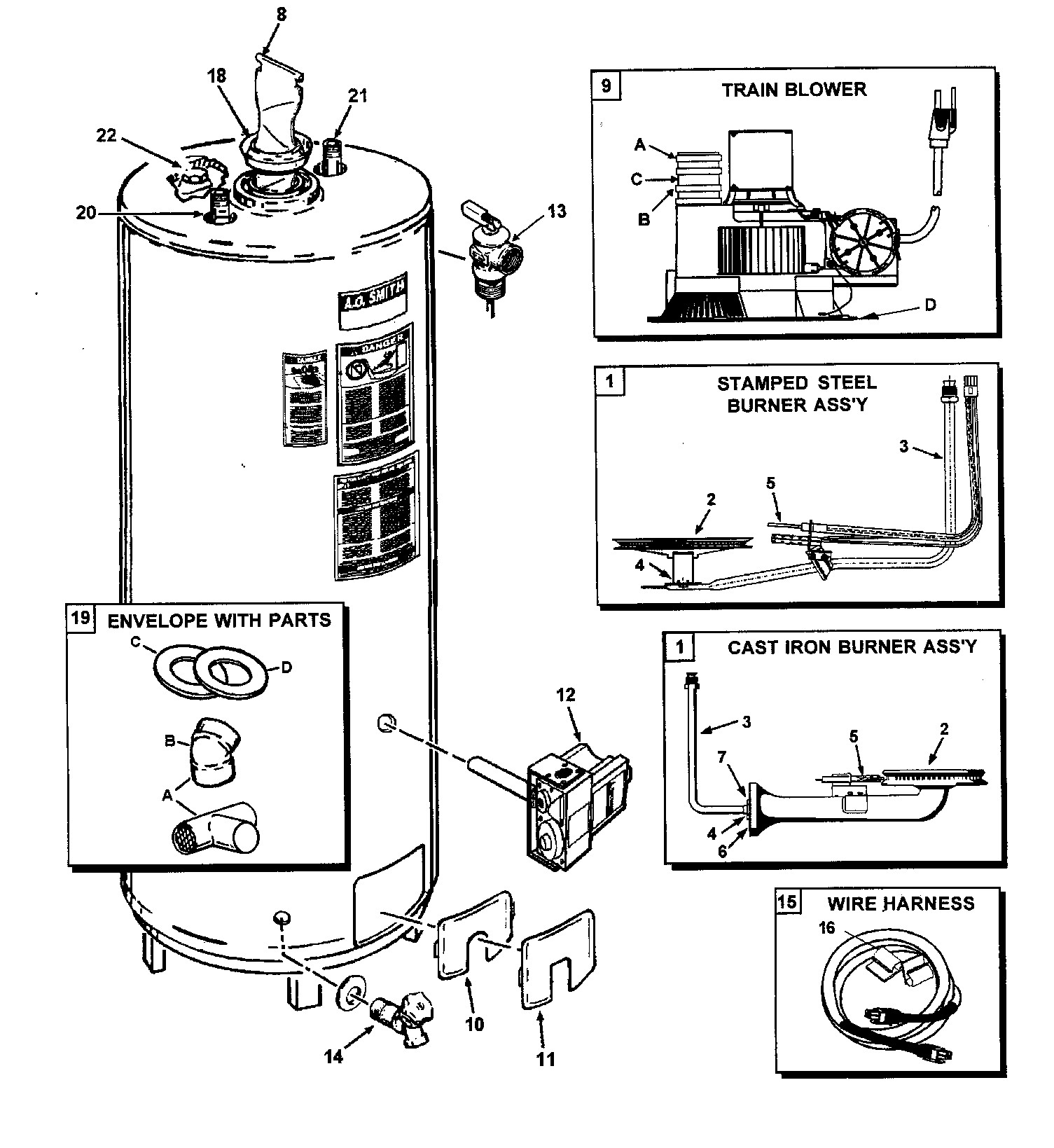Space Heater Electric Motor Schematic