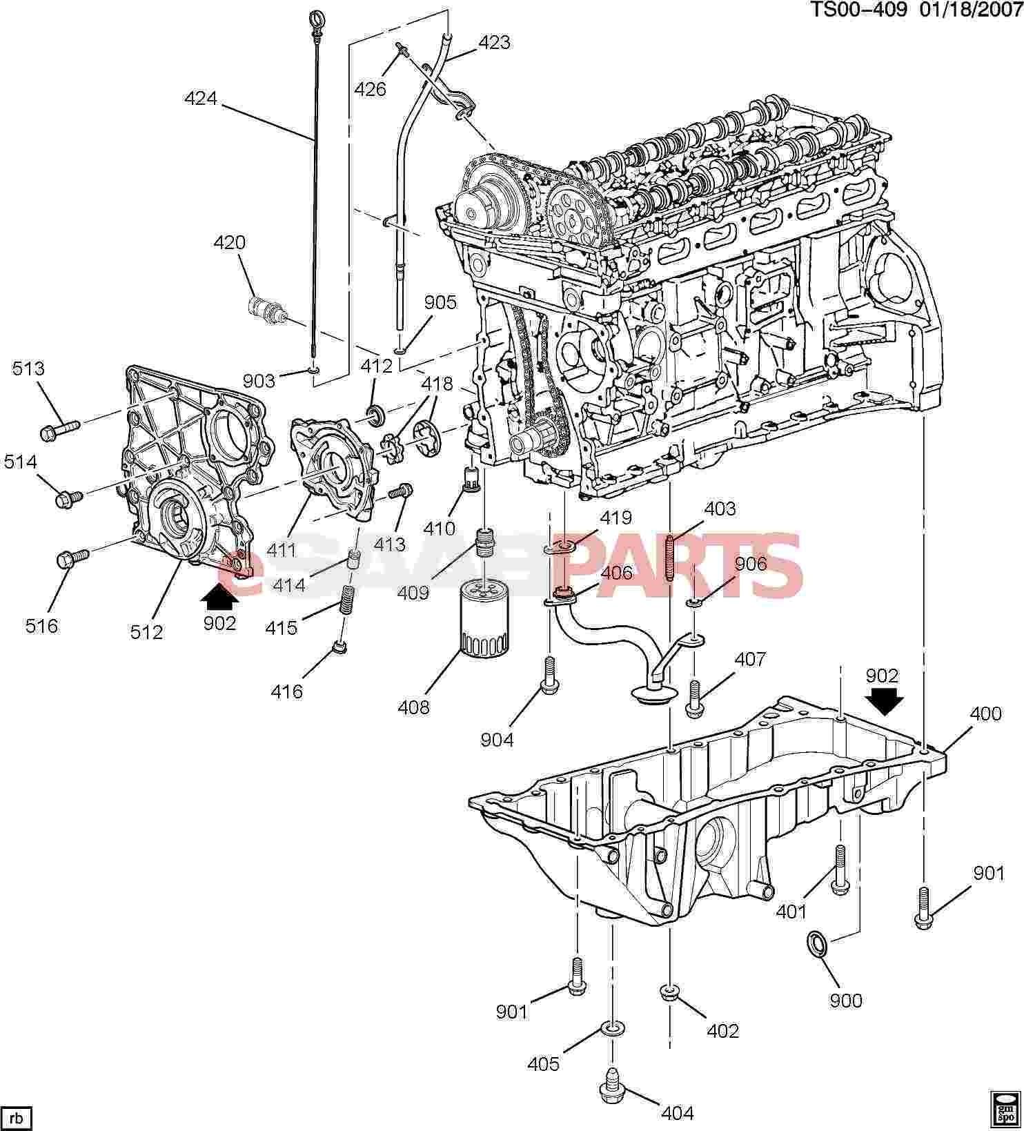 Engine Oil System Diagram