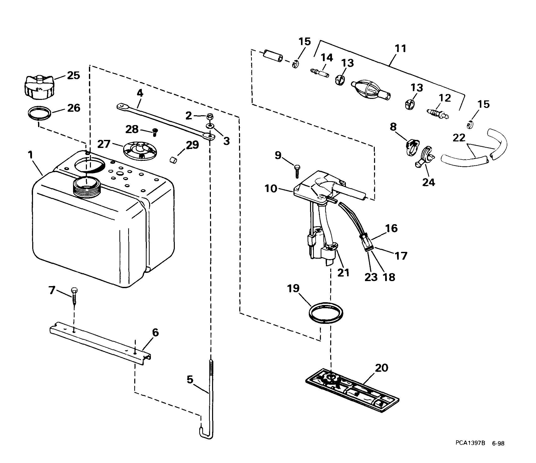 Evinrude Outboard Parts Diagram