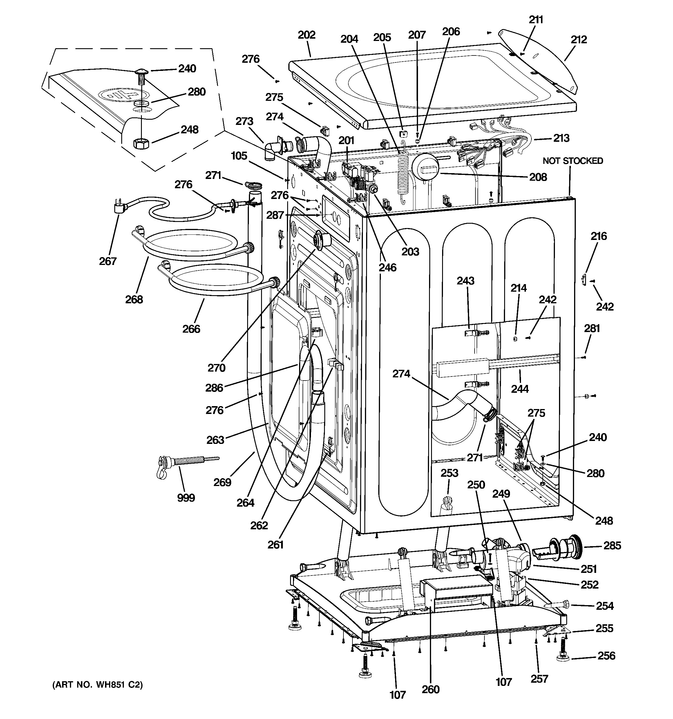 Frigidaire Washer Parts Diagram