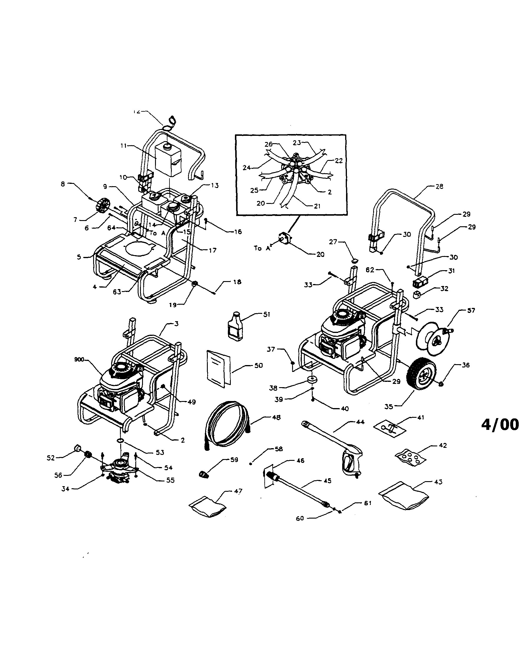 Honda 190 Pressure Washer Schematic