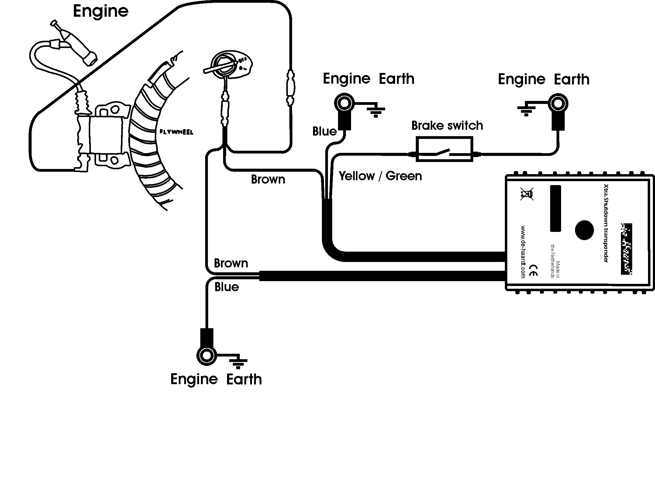 Small Engine Electric Starter Diagram