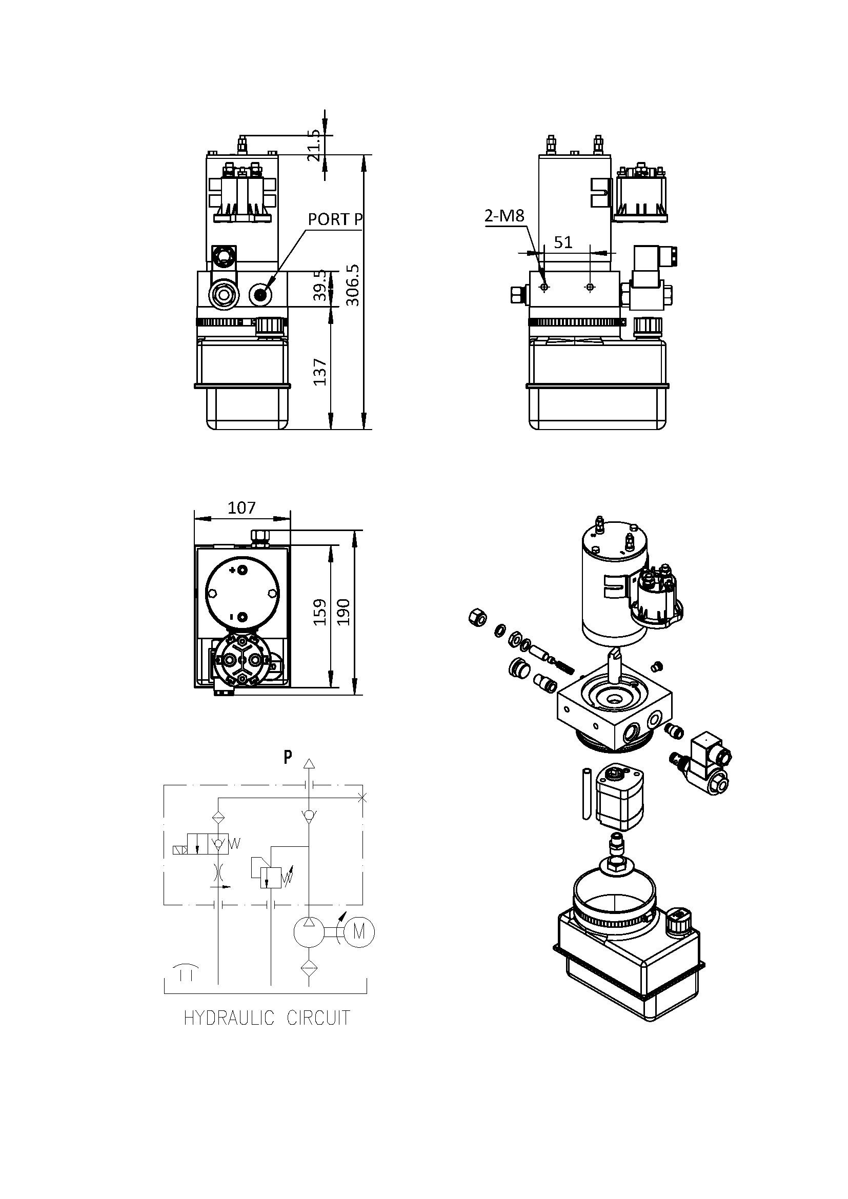 12v Hydraulic Pump Wiring Diagram
