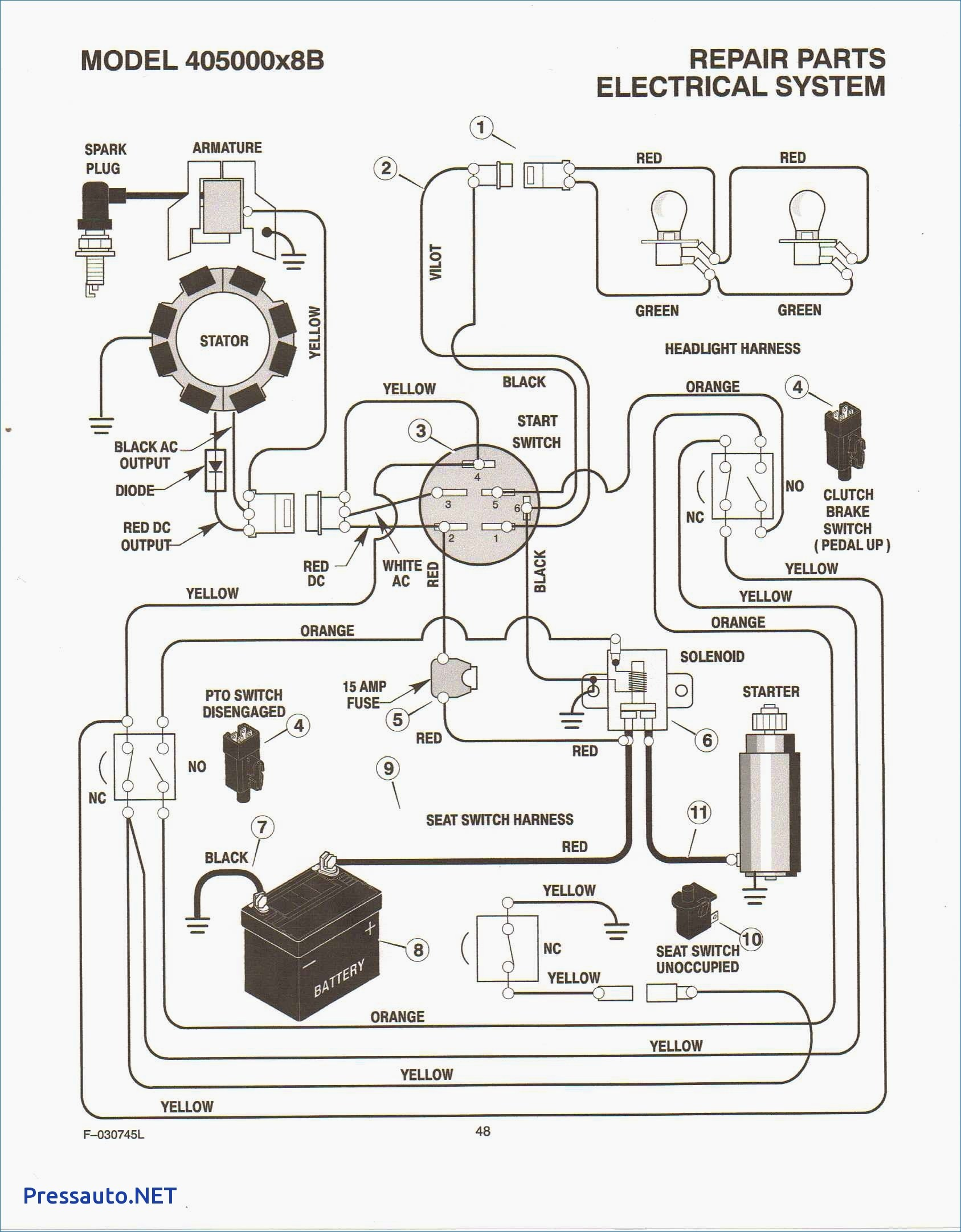Kohler K341 Wiring Diagram