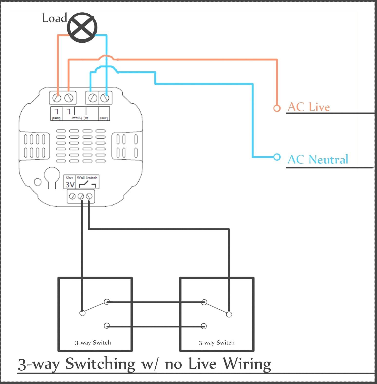 Leviton 3 Way Dimmer Wiring Diagram